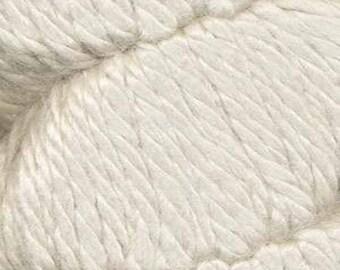 Ecru Ella Rae Chunky Alpaca Yarn 120 yards 100% SuperWash Alpaca Acrylic Color 500