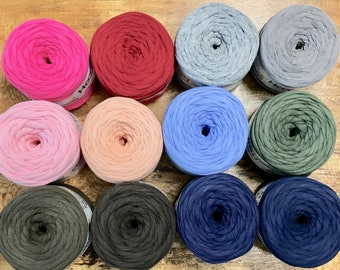 Hoooked Baby Zpagetti Yarn Cotton Super Chunky T Shirt Yarn Knitting Crochet Weaving 27 yards