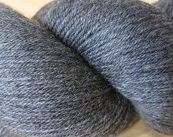 Charcoal Cascade Heritage Yarn 437 yards Super Fine Wool Nylon Sock Yarn Color 5631