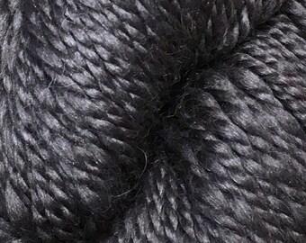 Araucania Lujoso Baby Alpaca Merino Wool Mulberry Silk Worsted Weight Yarn Color 25 Carob Purple 164 yards