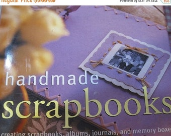 ON SALE Handmade Scrapbooks Creating Scrapbooks Journals Memory Boxes Country Living