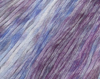 Victorian Violet Painted Mist Knitting Fever Modal Acrylic Wool 273 yards Purple Color 308