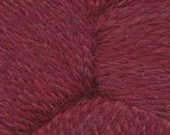 Merlot Red Herriot Fine Yarn by Jupiter Moon Farm 461 yards Super Fine Alpaca Nylon Sock Yarn Color 2011