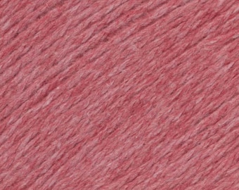 Red Currant United Lambswool Cotton by Queensland Collection Sport Weight Certified Organic 251 yards