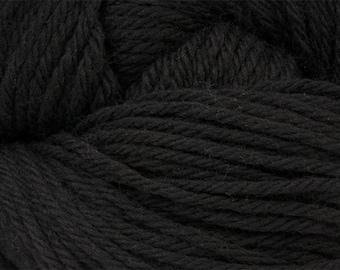 Black Cascade 220 Yarn 220 yards 100% Peruvian Highland Wool color 8555