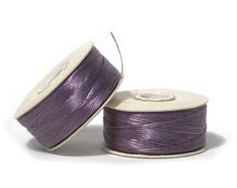 Nymo Beading Thread Light Purple Size D 64 yards 1 Spool Lavender Thread