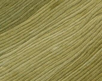 Seaweed Ella Rae Sun Kissed yarn DK Weight 262 yards Green 100% Cotton Yarn Color 09