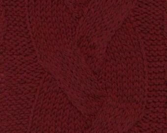 Burgundy Cashmere Lana Gatto DK Weight Yarn 100 Percent Cashmere 164 yards Color 8126