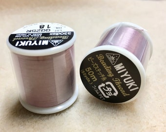 Lilac Miyuki Nylon Japanese Beading Thread 55 yards