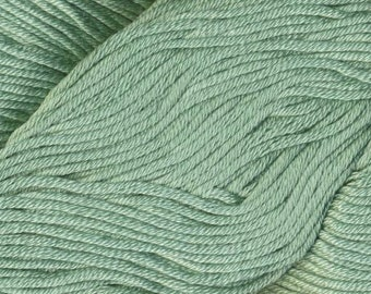 Egyptian Cotton Phoenix DK Ella Rae Yarn DK Weight 273 yards 100% Egyptian Cotton Yarn #1056 Beach Palm Green