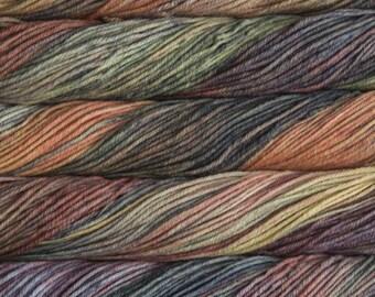Malabrigo Rios Primavera 210 yards Worsted Weight 100 grams 100% Superwash Merino Wool color 859