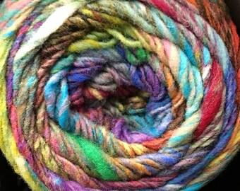 Noro Ito Worsted Weight Yarn Cake 437 yards 100% Wool color 01 Wonderwall