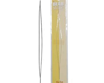 2 Big Eye Beading Needles Beadsmith 5 inches