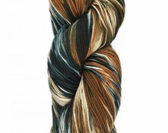 Yumbrel DK Handpainted by Araucania DK Weight Yarn 218 yards 100% Combed Cotton color 01