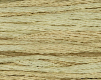 Weeks Dye Works Beige Embroidery Floss 1 Skein 6 Strand 100% Egyptian Cotton for Embroidery Cross Stitch Needlepoint Sewing Beading 1106