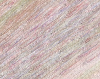 Prismatic Pearl Painted Mist Knitting Fever Modal Acrylic Wool 273 yards Off White Ivory Pink Green Color 311