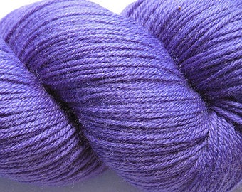 Purple Hyacinth Cascade Heritage Yarn 437 yards Super Fine Wool Nylon Sock Yarn Color 5625