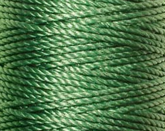 S-Lon Tex 400 Green Multi Filament Cord 35 yard Spool
