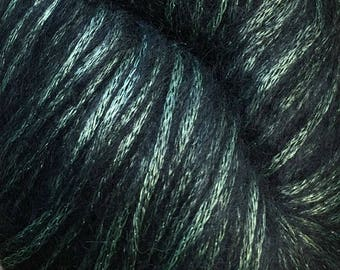 Emerald Luminosa 240 yards Worsted Alpaca Viscose Wool Cascade Yarn Color 01