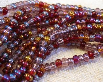 6/0 Vineyard Mix Genuine Czech Glass Preciosa Rocaille Seed Beads 11 grams