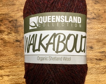 Jasper Walkabout Organic Shetland Wool by Queensland Collection Sport Weight Certified Organic 157 yards Color 14
