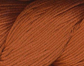 Egyptian Cotton Phoenix DK Ella Rae Yarn DK Weight 273 yards 100% Egyptian Cotton Yarn #1041 Tangerine