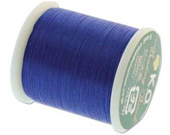 Blue KO Nylon Japanese Beading Thread 55 yards