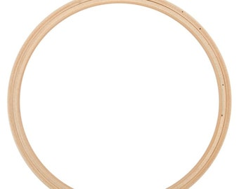 8 Inch Wood Embroidery Hoop Sewing Crafting Supply