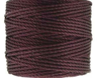 Eggplant S-Lon Tex 400 Multi Filament Cord One Spool 35 yards
