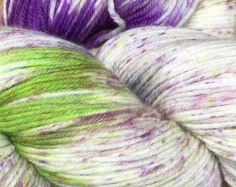 Araucania Huasco Sock Yarn Hand Painted Superwash Wool Polyamide Super Fine Fingering Weight Yarn #1014 Valparaiso 433 yards