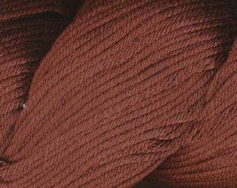 Egyptian Cotton Phoenix DK Ella Rae Yarn DK Weight 273 yards 100% Egyptian Cotton Yarn #1037 Chocolate