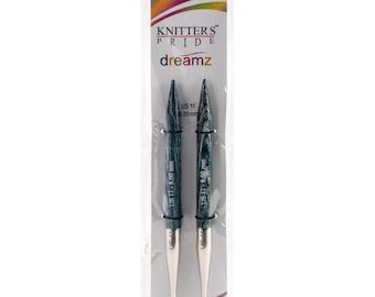 Knitters Pride Size 11 Dreamz Interchangeable Birch Wood Circular Knitting Needle Tips