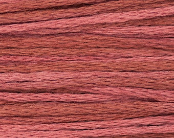Weeks Dye Works Brick Embroidery Floss 6 Strand 100% Egyptian Cotton for Embroidery Cross Stitch Needlepoint Sewing Beading 1331