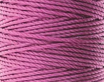 S-Lon Tex 400 Magenta Multi Filament Cord 35 yard Spool