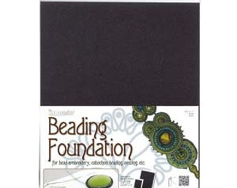 Beading Foundation Black 8.5 x 11 inches 1 piece