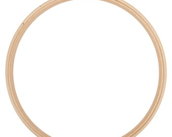 10 Inch Wood Embroidery Hoop Frank A. Edmunds Beechwood Hoop with Smooth Round Edges Brass Closure Embroidery Sewing Crafting Supply