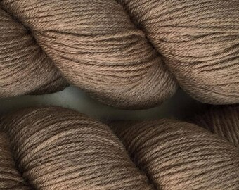 Brindle Brown Cascade Heritage Yarn 437 yards Super Fine Wool Nylon Sock Yarn Color 5683