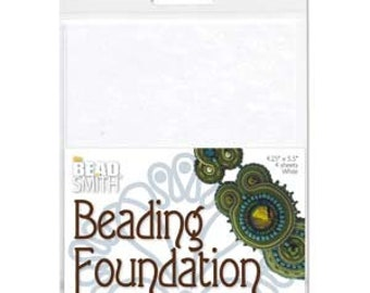 4 pack Beading Foundation 4.25 x 5.5 inches 4 pcs