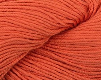 Orange Cascade Nifty Cotton Worsted Weight 100% Cotton 185 yards