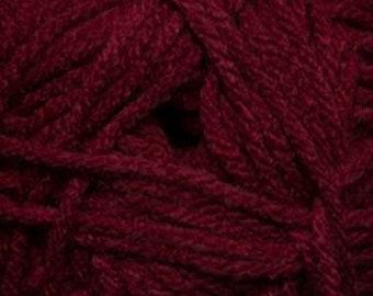 Maroon Cascade Anthem Yarn 186 yards 100% Acrylic Color 04