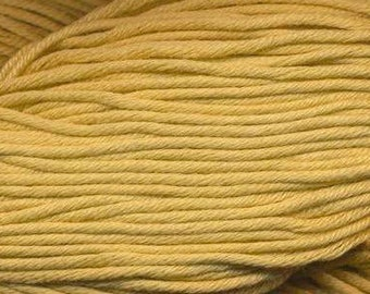 Egyptian Cotton Phoenix DK Ella Rae Yarn DK Weight 273 yards 100% Egyptian Cotton Yarn #1034 Mustard
