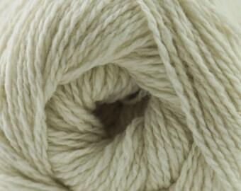 Aegean Tweed Cream by Cascade Organic Wool Tweed Yarn Rustic Look Yarn 328 yards DK Weight Color 07