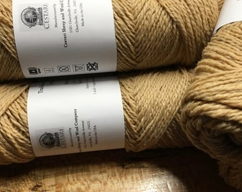 Cestari Buttercream Traditional Collection 100% Wool 2 ply Worsted Weight 170 yards Pull Skein Made in the USA