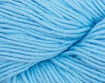 Aqua Blue Cascade Nifty Cotton Worsted Weight 100% Cotton 185 yards