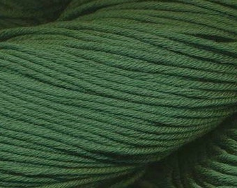 Egyptian Cotton Phoenix DK Ella Rae Yarn DK Weight 273 yards 100% Egyptian Cotton Yarn #1036 Grass Green