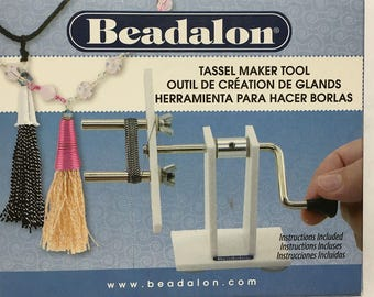 Tassel Maker Tool by Beadalon Instructions Included