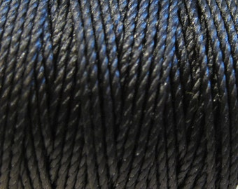 S-Lon 210 Black Multi Filament Cord 77 yard Spool #18 cord