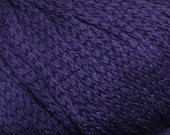 Eternity Luxurious Purple Merino Wool Cashmere Fourteen by Juniper Moon Farm Worsted Weight Yarn 147 yards Color 10
