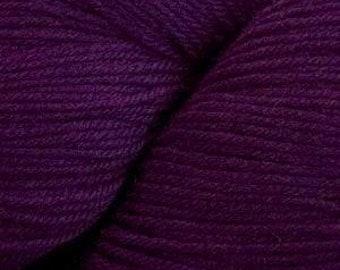 Plum Purple Cascade Heritage Yarn 437 yards Super Fine Wool Nylon Sock Yarn Color 5605