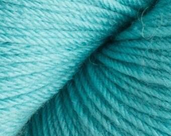 Dusty Turquoise Cascade Heritage Yarn 437 yards Super Fine Wool Nylon Sock Yarn Color 5704